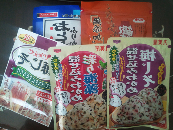 japanese rice toppings packages