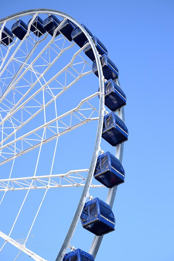 chicago navy pier wheel - ting fen zheng