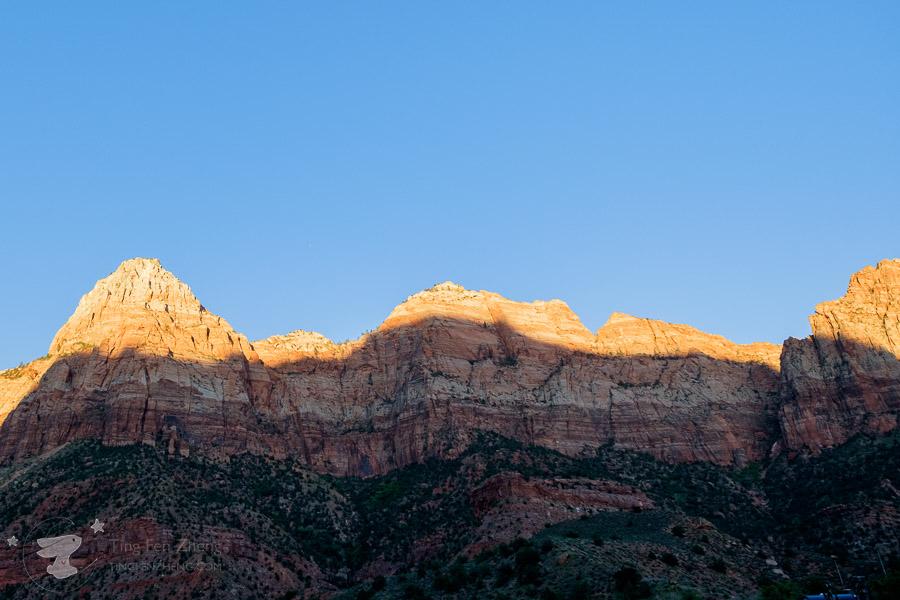 Zion national park sunset - ting fen zheng