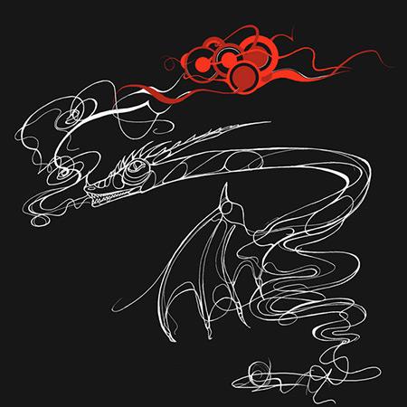 Dragon Illustration - ting fen zheng