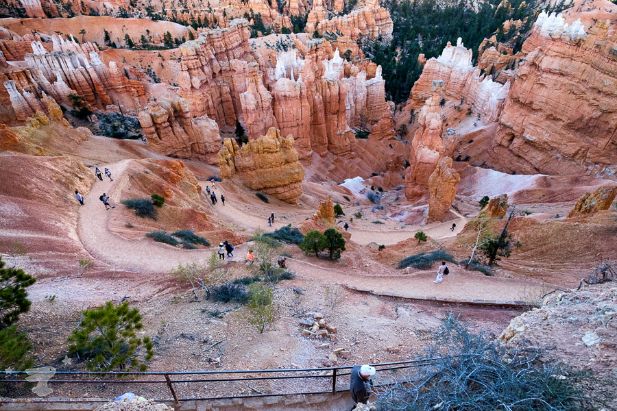 Byrce Canyon - Sunset Point Hoodoos