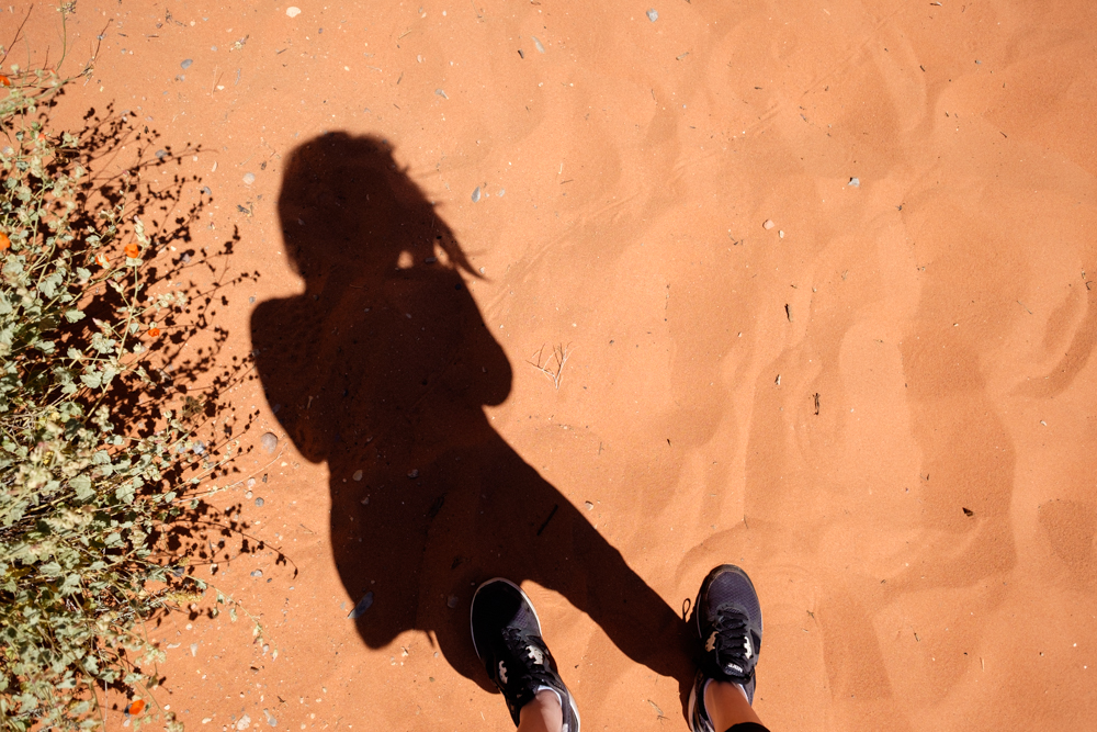 Valley of Fire State Park - My Shadow