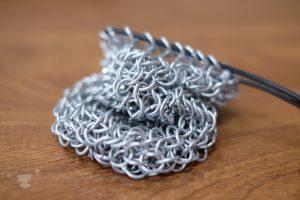 chain mail bag - ting fen zheng