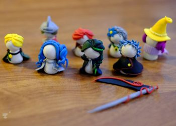 Polymer Clay Figurines