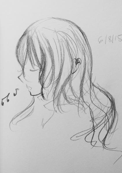 ting fen zheng sketch