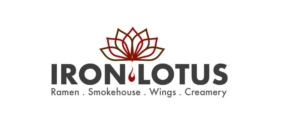 ironlotus restaurant logo